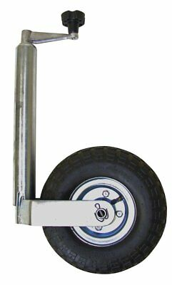 Maypole MP4375 Medium Duty Jockey Wheel Pneumatic without Clamp, 48 mm