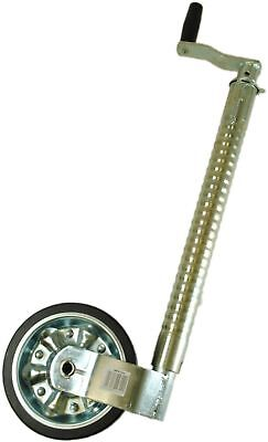 Maypole 9744 Heavy Duty Ribbed Jockey Wheel without Clamp, 48 mm