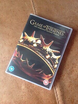 *Game Of Thrones - Series 2 - Complete (DVD, 2013, 5-Disc Set, Box Set)