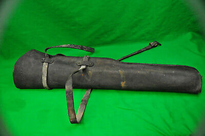 WWII US Army M1938 / M1 Garand Leather Rifle Jeep Scabbard