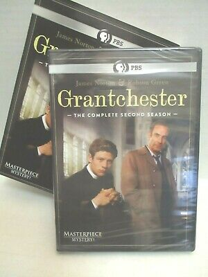 Masterpiece Mystery: Grantchester: Season 2 (DVD, 2016, 2-Disc Set) Brand New!!!