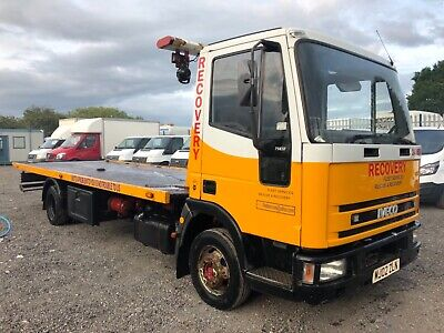 Iveco 75E17 Tector 7.5 Ton Tilt,Slide Recovery Truck,Spec Spares Or Repairs