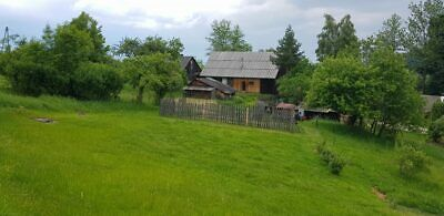 Mountain LOG CABIN to restore in ski location, nr Krakow, Poland + acre of land