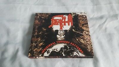 Death - Individual Thought Patterns 4 Panel Digibook Metal CD