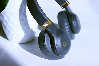JBL E55BT Quincy Edition Space Gray Wireless Over Ear Bluetooth Headphones.