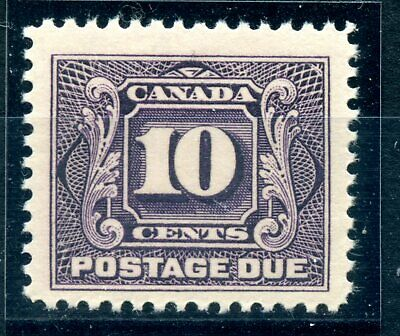 Weeda Canada J5 F/VF MNH 10c reddish violet 1928 Postage Due issue CV $170