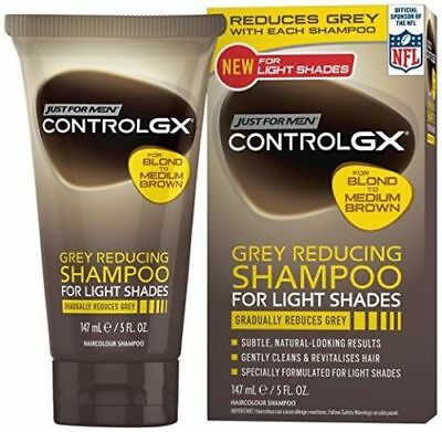 Just For Men Control GX Grey Reducing Shampoo for Light Shades b