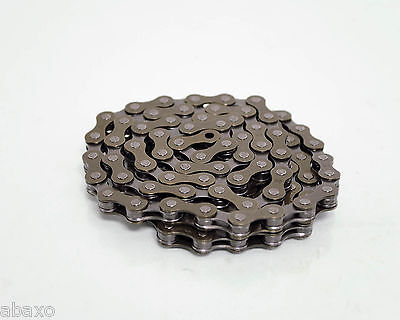 ORIGINAL VINTAGE KMC CHAIN 1//2X3//32//116 Z33 6//SPEED IN 2 COLORS! NEW