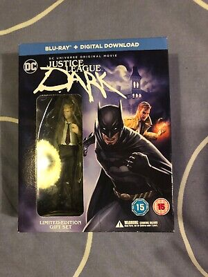Justice League Dark - Minifig  Blu-Ray