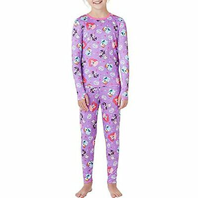 NEW My Little Pony Cuddl Duds Girl Top Pants Base Layer Underwear Set S 6 7