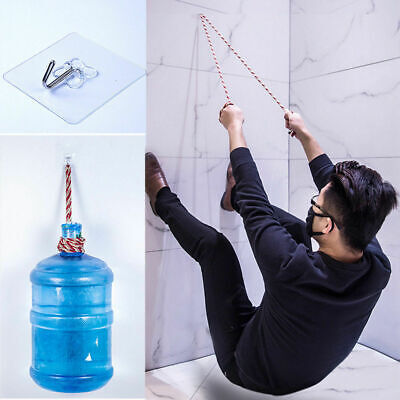 1PC Strong Transparent Suction Cup Sucker Wall Hooks S4Q0 Bathroo Hanger W6J1
