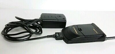 Motorola StarTAC Vintage Cell Phone powers on with charger included