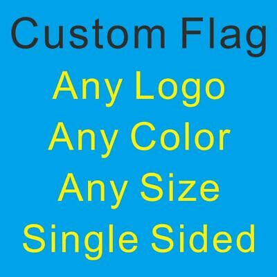 Custom Flag Any Logo Any Size National State Provinces City Army Royal Banner#TP