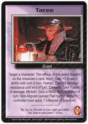 Babylon 5 CCG Severed Dreams Complete Set of 150 Cards 50 Rare M//NM Mint//Near