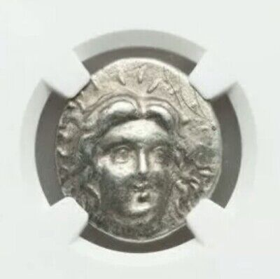CARIAN ISLANDS. Rhodes. Ca. 230-205 BC. AR tetradrachm (26mm, 13.48 gm, 12h) NGC