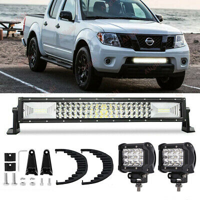 For 2004 2018 Nissan Frontier Lower Grille Bumper 20 22 Led