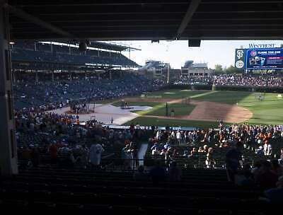 1-10 Chicago Cubs Vs Washington Nationals Sat, 8/24 Sect 225 Row 23
