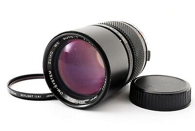 """""""Exc++"""" Olympus OM-System Zuiko MC Auto-T 135mm f/2.8 MF Lens from Japan #A1636"""