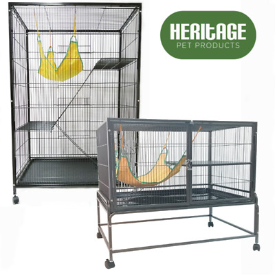 Heritage Chinchilla Ferret Cage Pet Enclosure Degu Home House Rat Cages Hutch