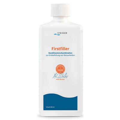 Wasserbett Conditioner Erstbefüllung Konditionierer Stricker Firstfiller 500ml