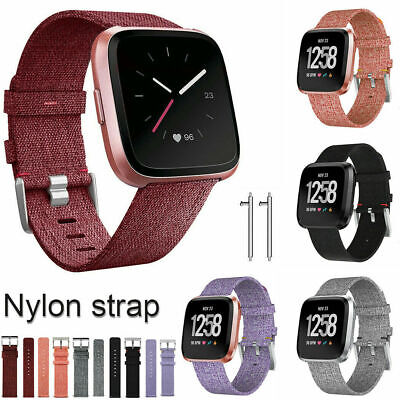 Replacement Watch Band Fabric Watch Sports Strap Wristband For Fitbit Versa