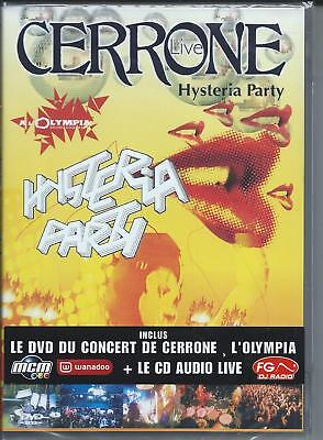DVD + CD Cerrone Live Hysteria Party  NEUF sous cellophane
