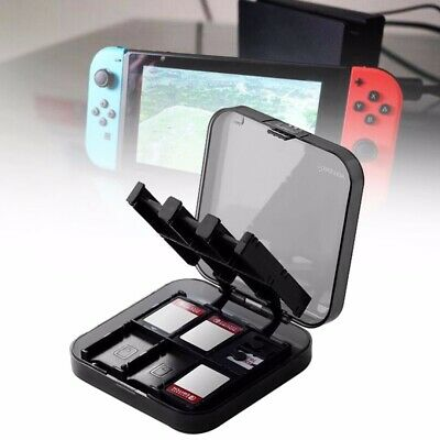 Portable Game Card Holder Hard Protective Storage Case Box For Nintendo Switch