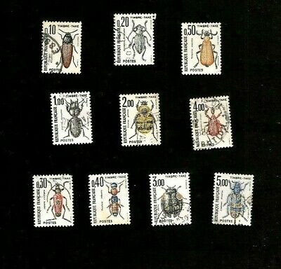 Lot Serie Timbres Taxe France 1982/83 Yt 103 104 105 106 107 108 109 110 111 112