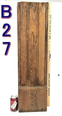 Antique Oak MANTLE COLUMN  post reclaimed fireplace salvage *B27*