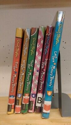 Malory Towers 1-6 by Enid Blyton: collection of 6 children's books