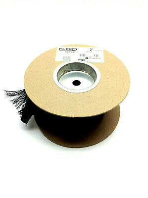 """Flexo Wrap FWN2.00BK 2"""" Dia Hook and Loop Expandable Sleeving 10ft Roll"""