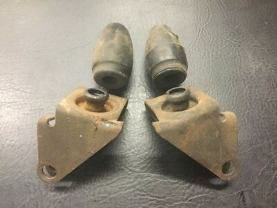 VW AirCooled Super Beetle Strut Dust Cap And Bump Stop Set 74-79