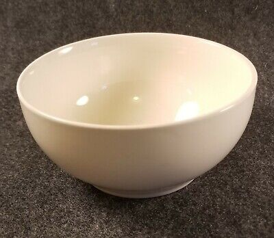 Vintage Ceramic White Small Cereal/Soup Bowl Stamped USA