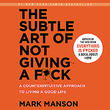 The Subtle Art of Not Giving a F*ck AudioBook e-Delivery