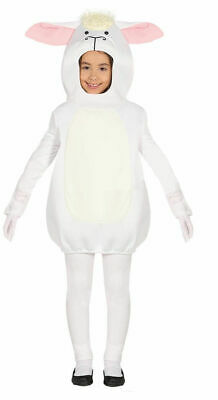 Kids Boys Girls Cute Sheep Lamb Fancy Dress Costume Outfit Nativity Farm Animal
