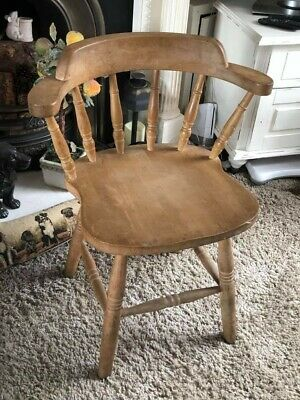 Antique carver Smokers Bow Chair country cottage