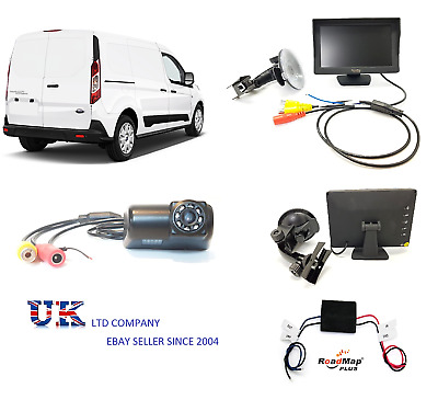 ford transit  connect Rear reversing camera parking 5 inch monitor new shape