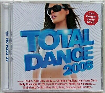 TOTAL DANCE 2008 -CD -(Collection of Club Hits Mixed By DJ SKRIBBLE) - BRAND NEW