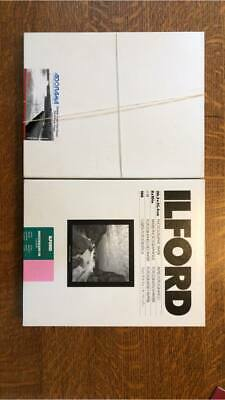 ILFORD MULTIGRADE IV FB FIBER PAPER 100 sheets 8 x 10 PLUS BONUS PAPER