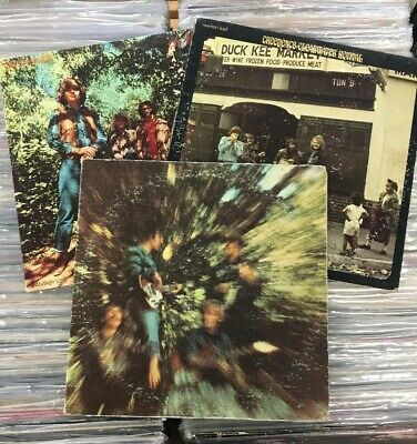 Creedence Clearwater Revival Vintage Vinyl Lot (3 LPs) Classic Rock Records CCR