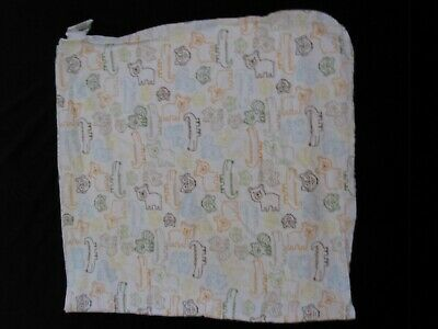Circo Target Baby Receiving Flannel Blanket Woodland Animal Alligator Fox Owl