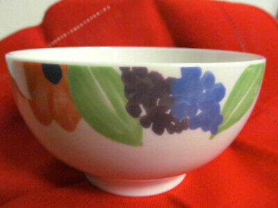 VILLEROY & BOCH SWITCH BONJOUR MADAME floral rice bowl cereal ice cream soup 4