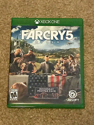 Far Cry 5 (Microsoft Xbox One, 2018) - Great Condition