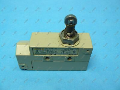 Omron ZE-N22-2S Limit Switch Side Mount Booted Top Roller Plunger 15 Amp SPDT
