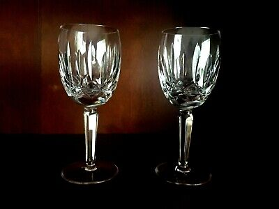 "Waterford Crystal KILDARE Vintage Claret 6-1/2"" - Pristine, 6 Available"