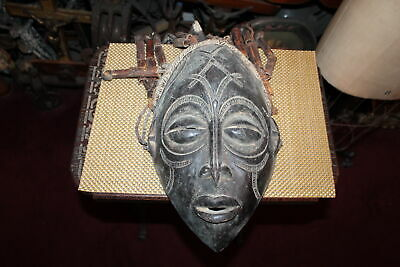Antique African Wood Tribal Mask