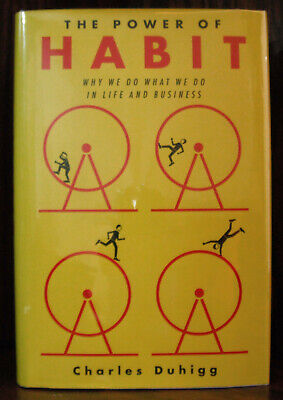 The Power Of Habit by Duhigg Hardcover w/jacket