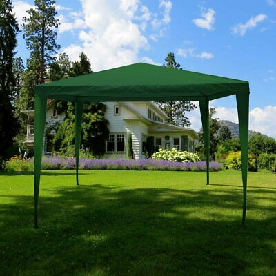 3 x 3m Garden Gazebo Marquee Party Tent Picnic Heavy Duty Canopy (4 Colours)