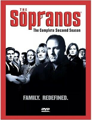 The Sopranos - The Complete Second Season (DVD, 2013, 4-Disc Set)