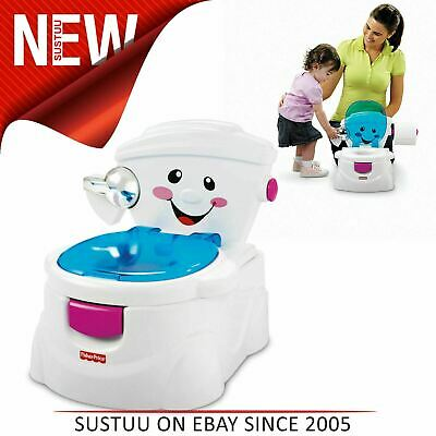 Fisher-Price My Potty Friend│Baby/kid/Toddler potty/Toilet Trainer│Easy Clean-up